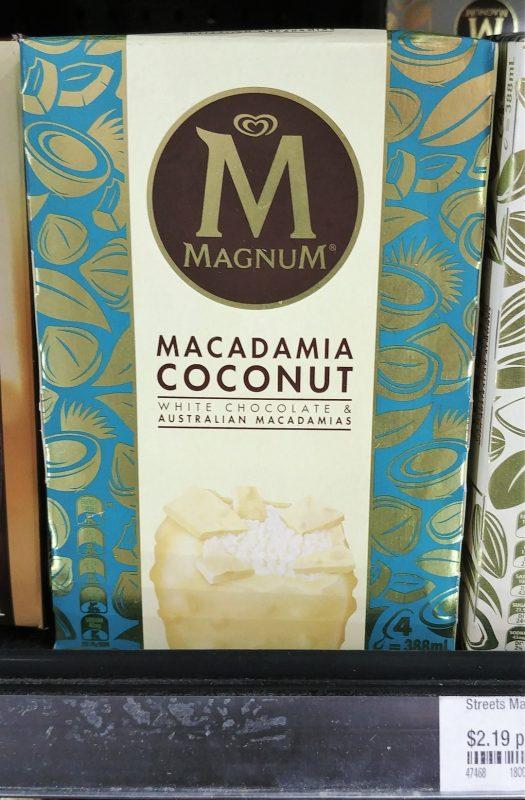 Magnum 388mL Macadamia Coconut
