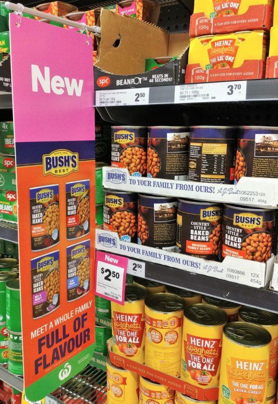 Bushs Best 454g Baked Beans POS 10