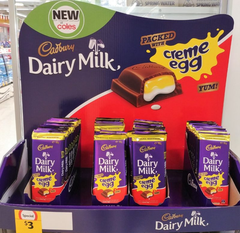 Cadbury 180g Dairy Milk Chocolate Creme Egg