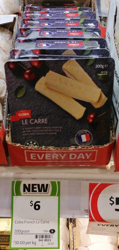 Coles 200g Le Carre