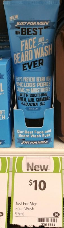 Just For Men 97mL Wash Face And Beard