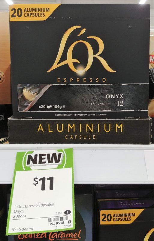 Lor 104g Onyx Espresso