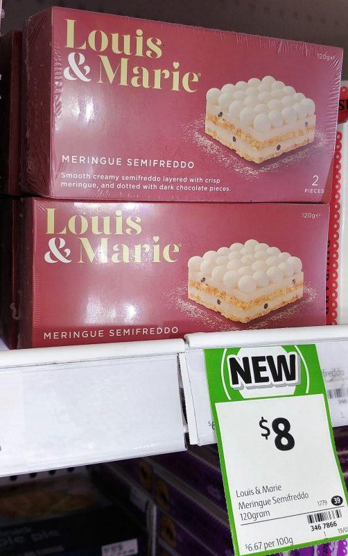 Louis & Marie 150g Meringue Semifreddo