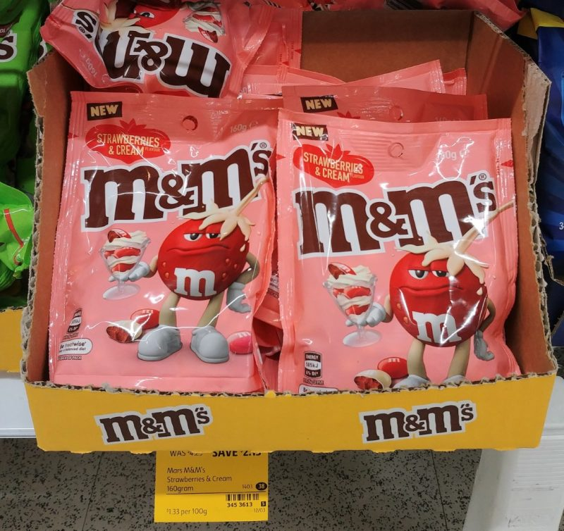 M&M's 160g Strawberries & Cream