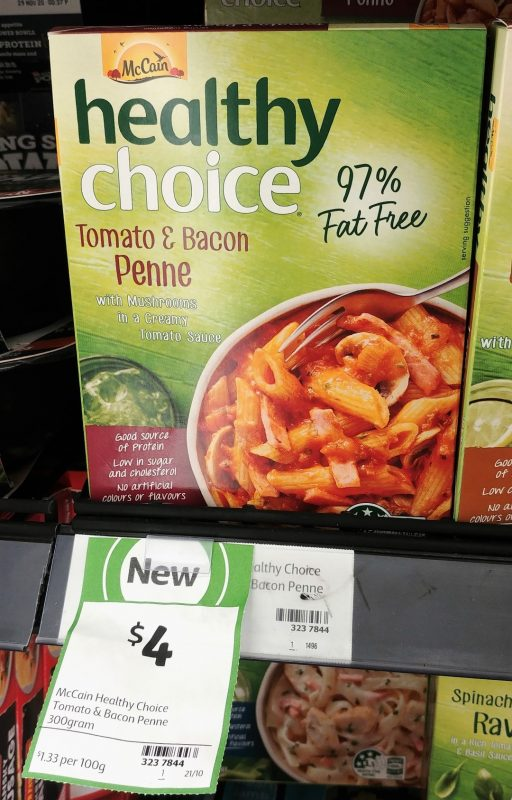 McCain 300g Healthy Choice Tomato & Bacon Penne