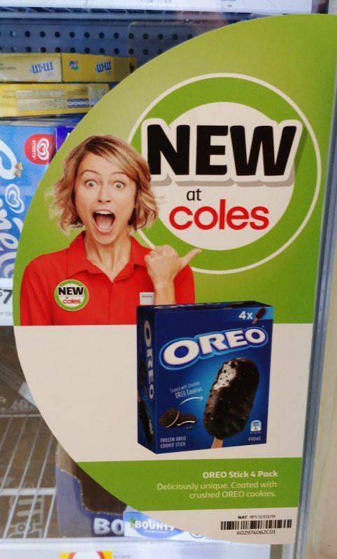 Oreo 440mL Frozen Oreo Cookie Stick New Girl Jenny