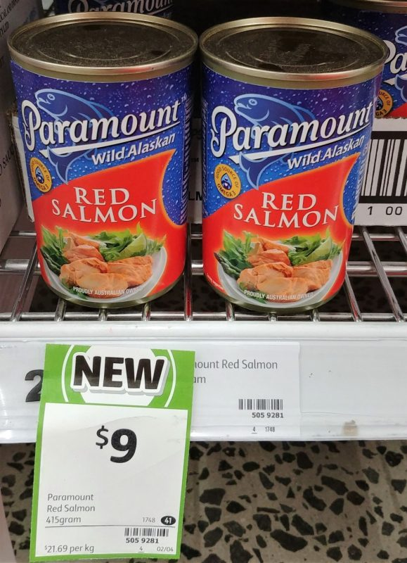 Paramount 415g Red Salmon