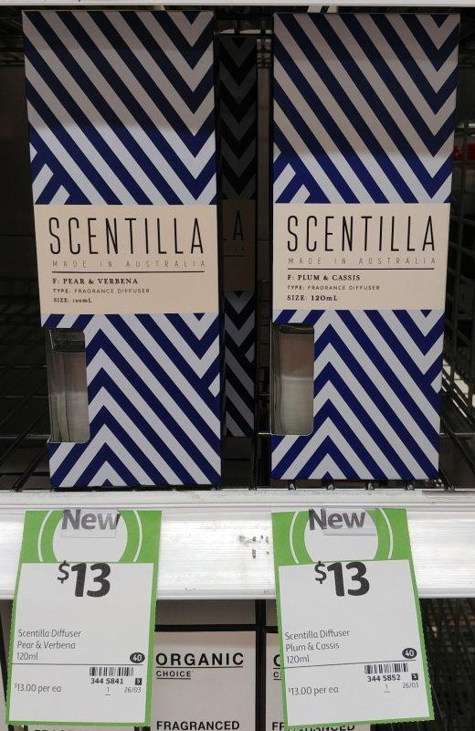 Scentilla 120mL Fragrance Diffuser Pear & Verbena, Plum & Cassis