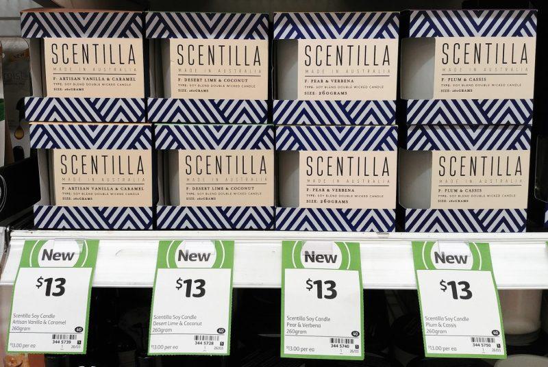Scentilla 260mL Fragrance Diffuser Artisan Vanilla & Caramel, Desert Lime & Coconut, Pear & Vanilla, Plum & Cassis