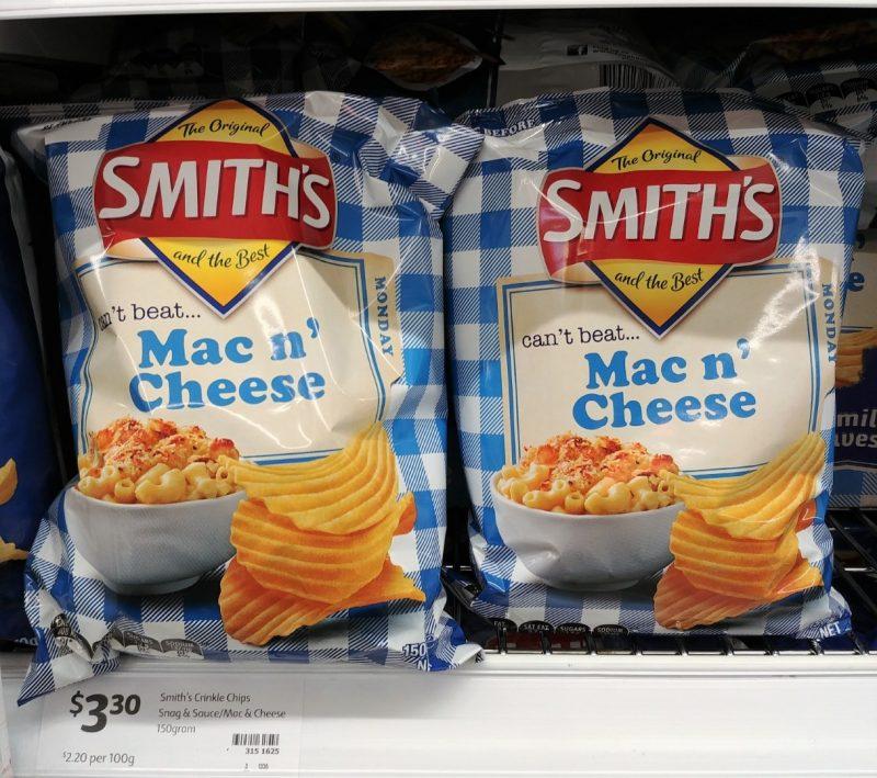 Smiths 150g Potato Chips Mac N' Cheese