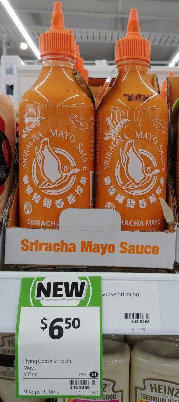 Sriracha 455mL Mayo Sauce