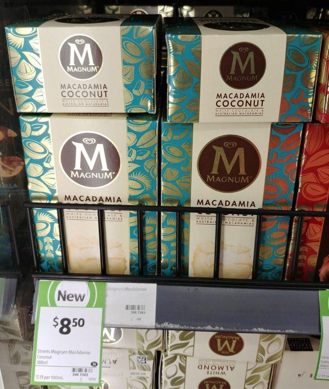 Streets 388mL Magnum Macadamia Coconut