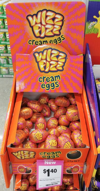 Wizz Fizz 37g Cream Eggs 7