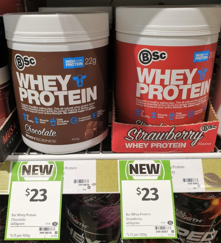 BSc 400g Whey Protein Chocolate, Strawberrg