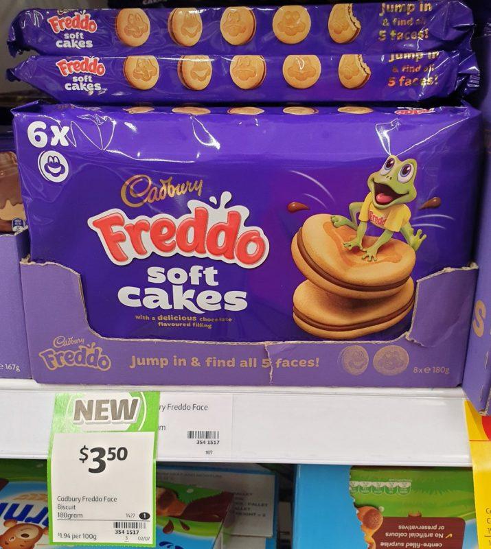 Cadbury 180g Freddo Soft Cakes