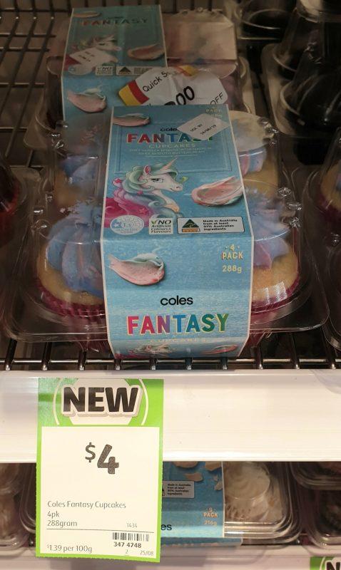 Coles 288g Cupcakes Fantasy