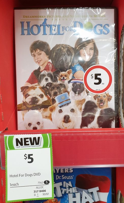 DVD 1 Pack Hotel Fod Dogs