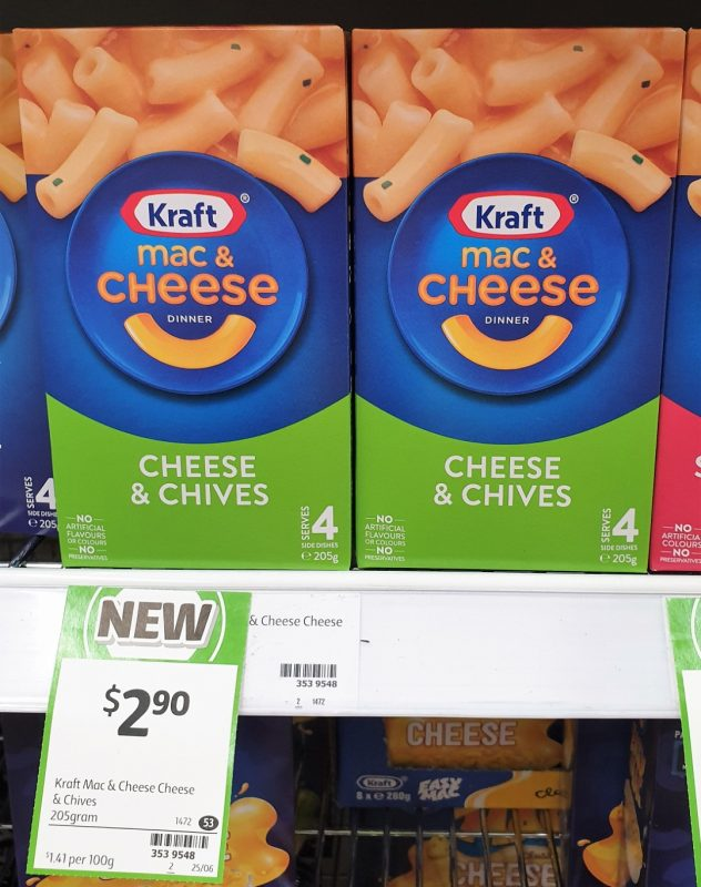 Kraft 205g Mac & Cheese Cheese & Chives
