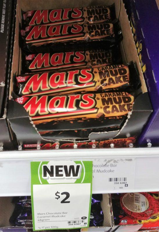 Mars 48g Caramel Mud Cake