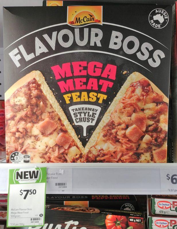 McCain 500g Flavour Boss Mega Meat Feast