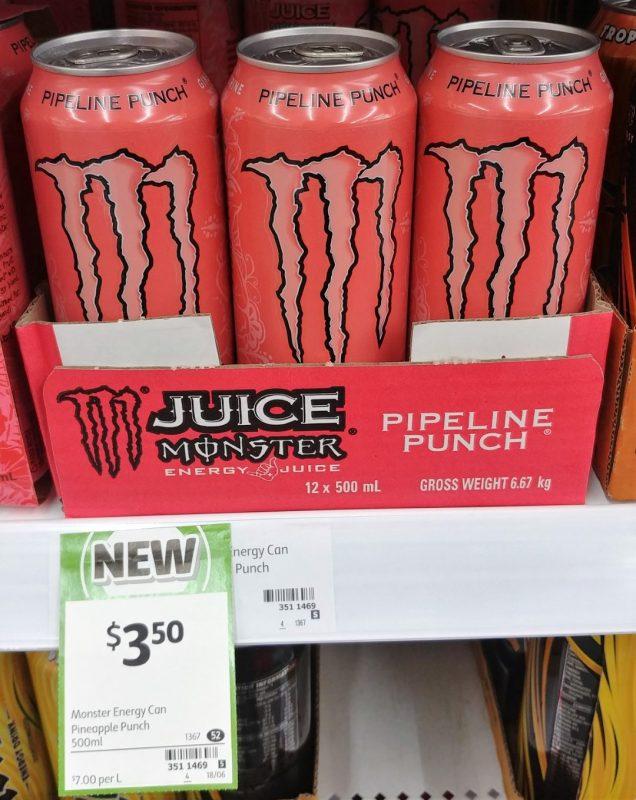 Monster 500mL Juice Pipeline Punch