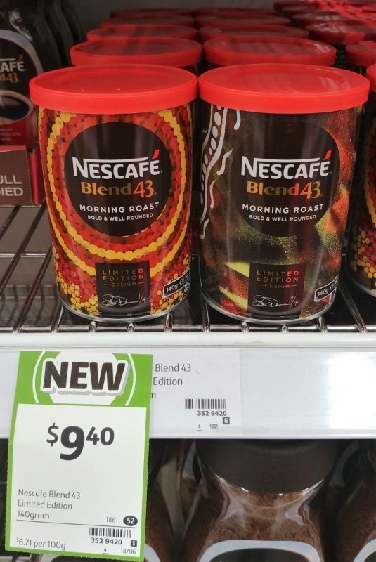 Nescafe 140g Blend 43 Limited Edition