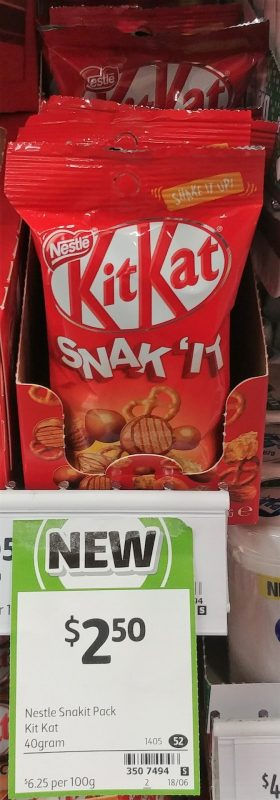 Nestle 40g KitKat Snak 'it
