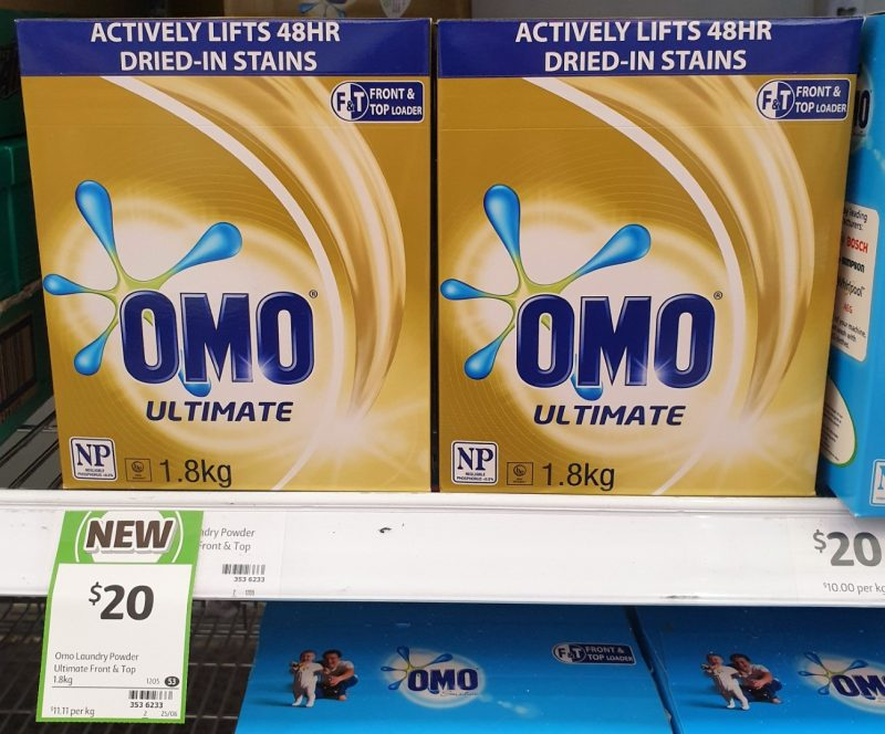 Omo 1.8kg Ultimate Laundry Powder