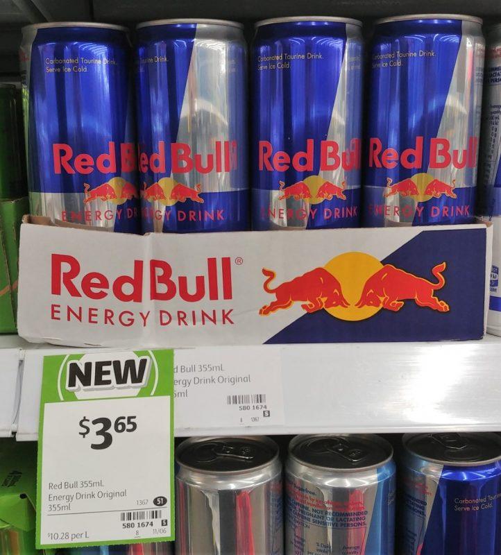 Red Bull 355mL Energy Drink Original