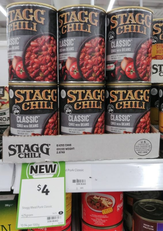 Stagg Chili 425g Classic Chili With Beans
