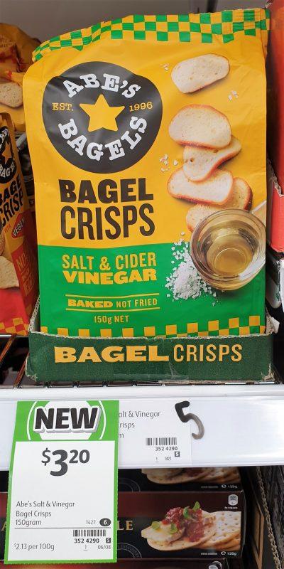 Abe's Bagels 150g Crisps Bagel
