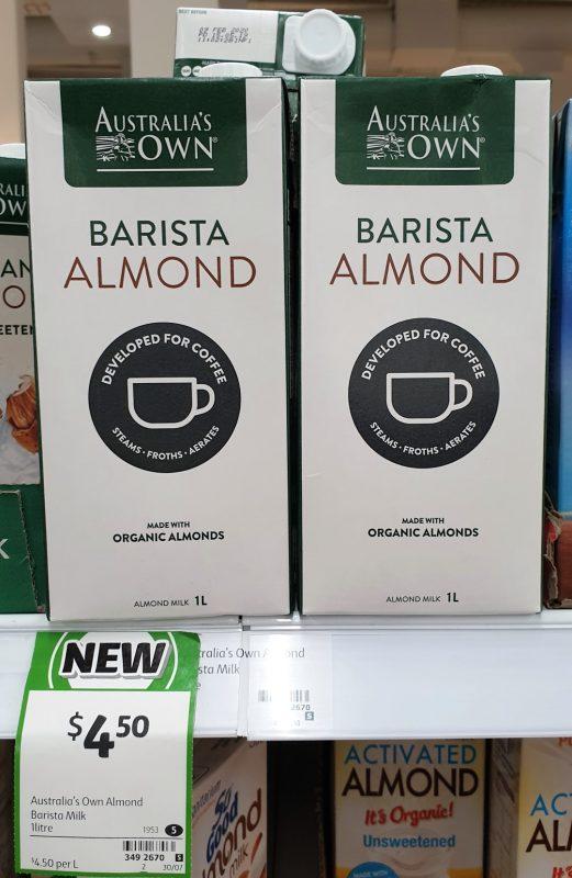 Australia's Own 1L Barista Almond
