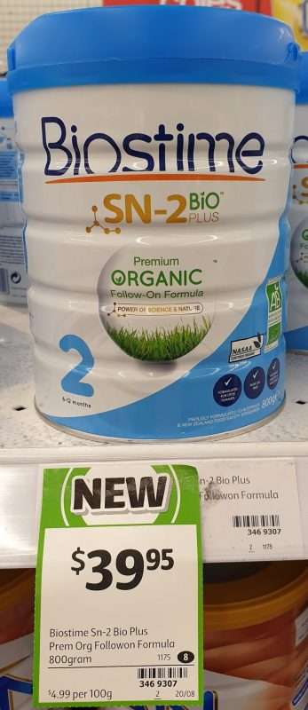 Biostime 800g SN 2 Bio Plus Follow On Formula 2