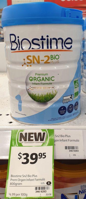 Biostime 800g SN 2 Bio Plus Infant Formula 1