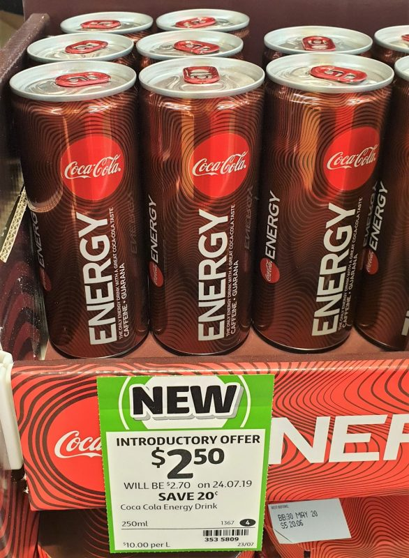 Coca Cola 250mL Energy Drink