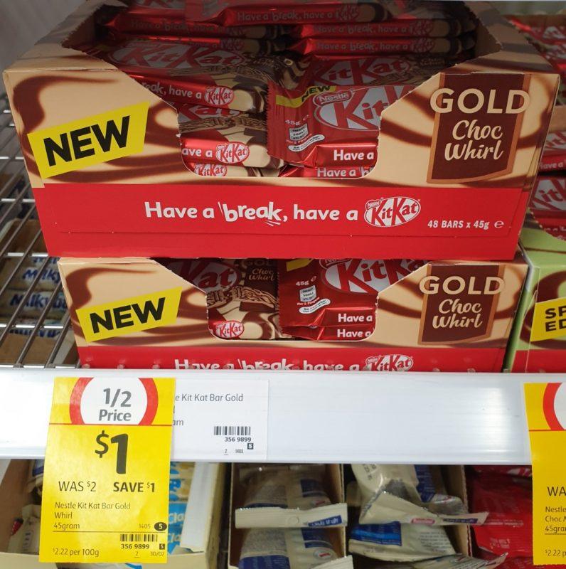 KitKat 45g Gold Choc Whirl
