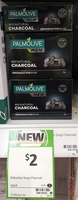 Palmolive 115g Men Charcoal