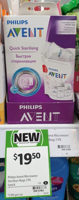 Philips 5 Pack Avent Quick Sterilising