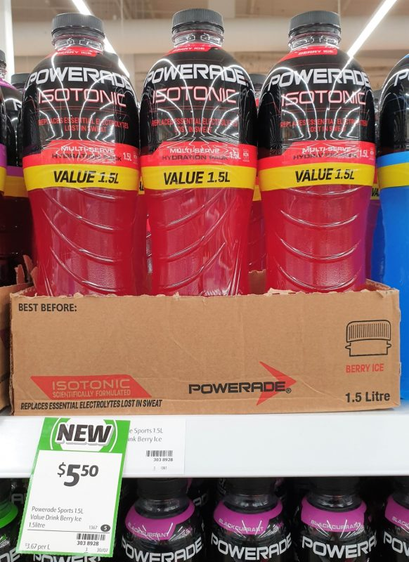 Powerade 1.5L Isotonic Berry Ice