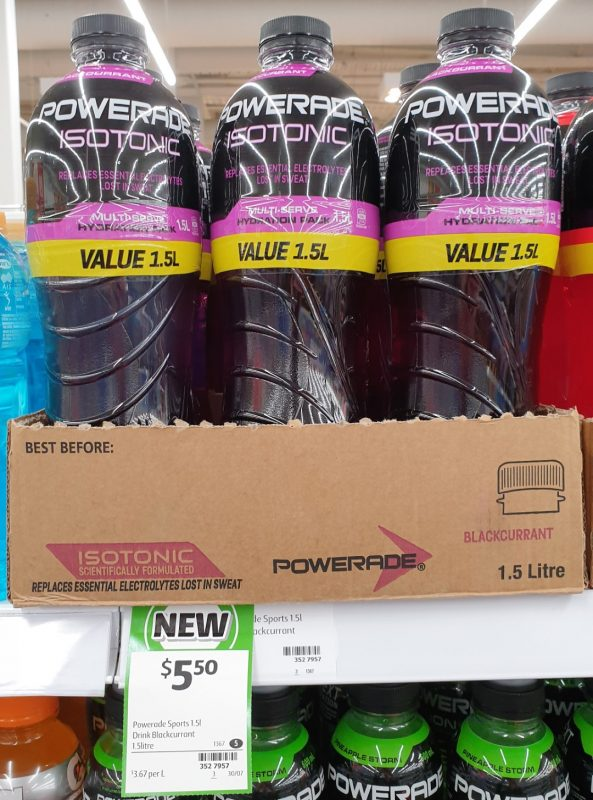 Powerade 1.5L Isotonic Blackcurrent