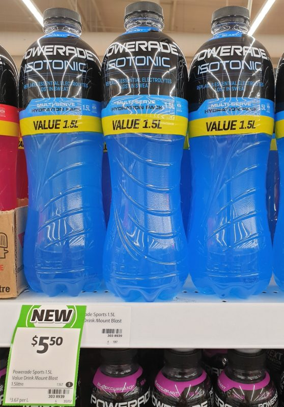 Powerade 1.5L Isotonic Mountain Blast