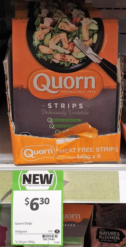 Quorn 140g Strips Meat Free