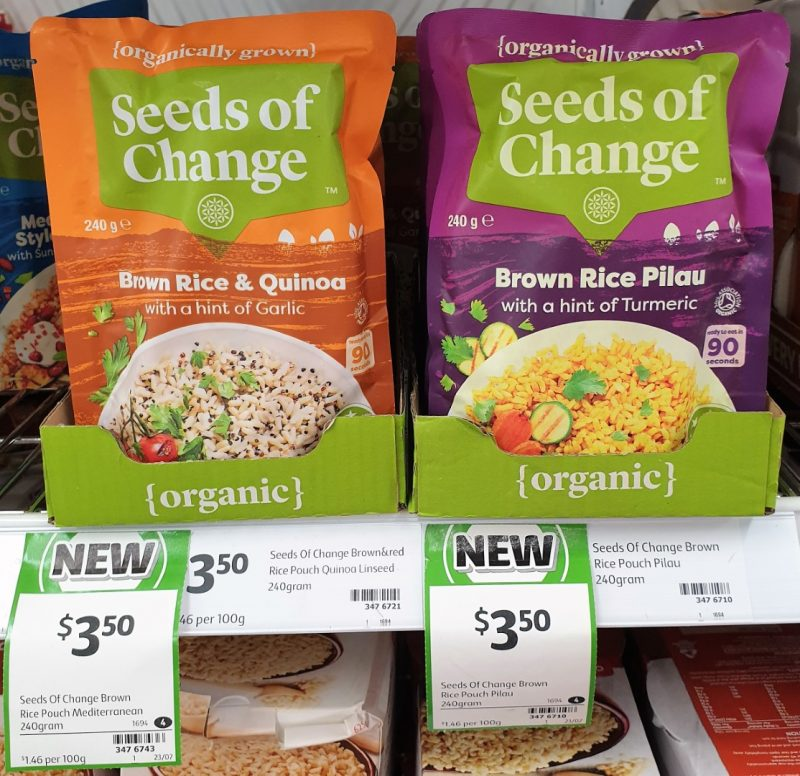 Seeds Of Change 240g Brown Rice & Quinoa, Pilau