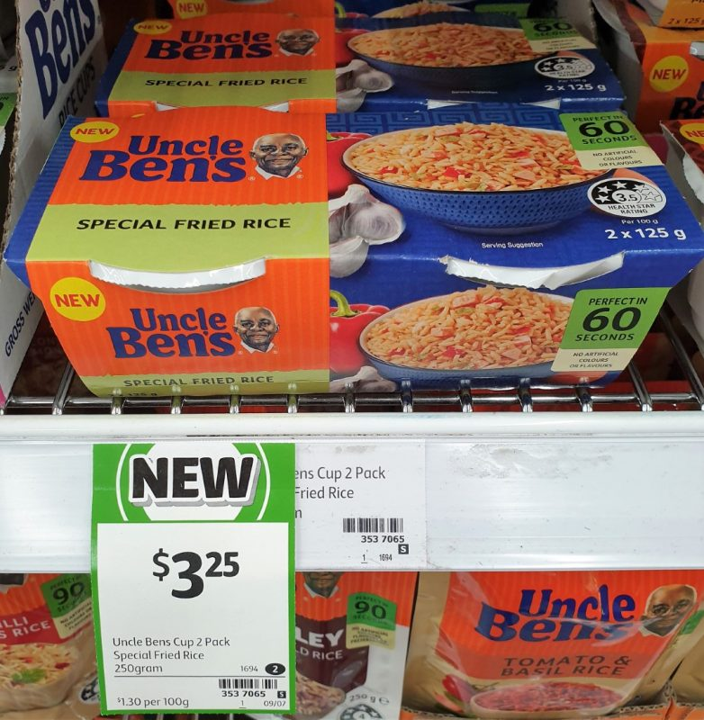 Uncle Ben's 2 X 125g Special Fried Rice