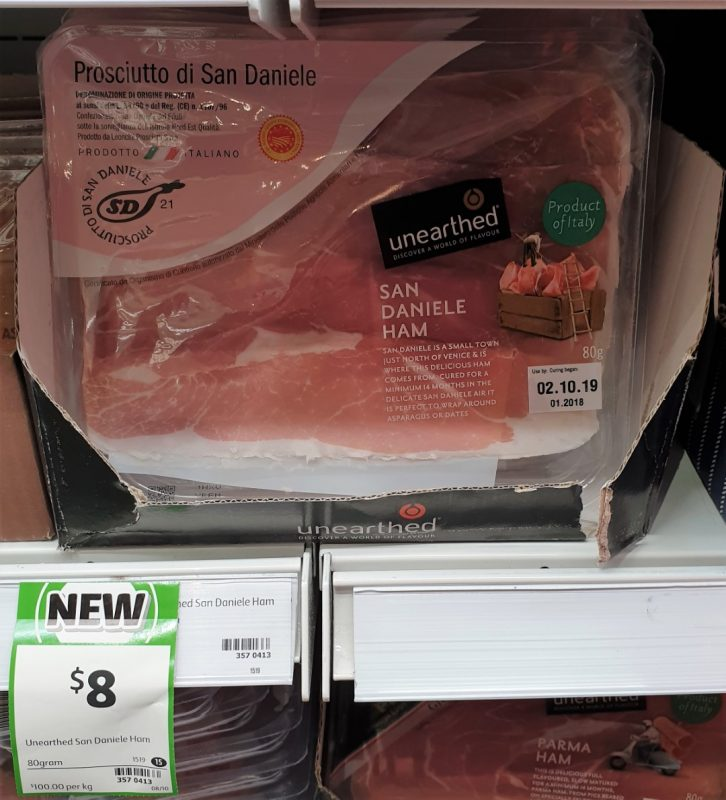 Unearthed 80g Ham San Daniele