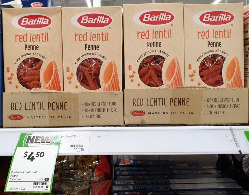 Barilla 250g Penne Red Lentil