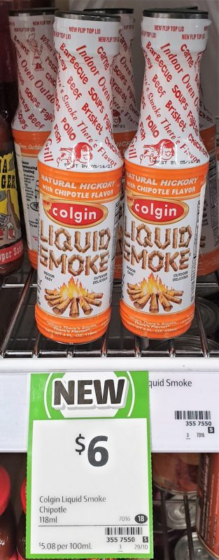 Colgin 118mL Liquid Smoke Chipotle
