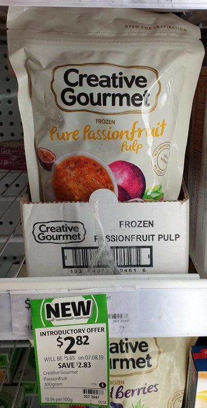 Creative Gourmet 300g Passionfruit Pulp