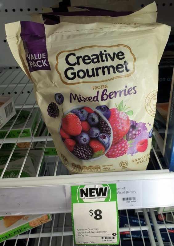 Creative Gourmet 750g Mixed Berries