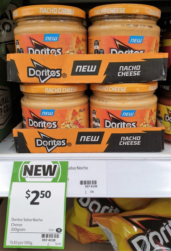 Doritos 300g Nacho Cheese